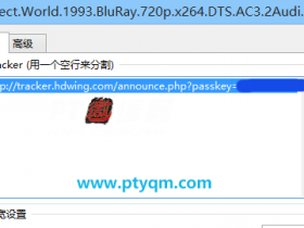 如何修改hdsky/mteam/hdwing/chdbits等PT站的的tracker地址