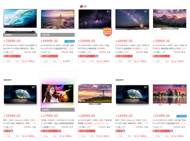 中国首发上市的索尼OLED电视A1卖三万多贵吗?
