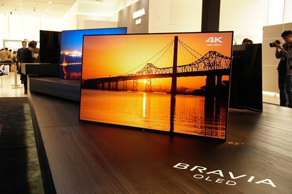 索尼:高端电视市场 目前没有对手