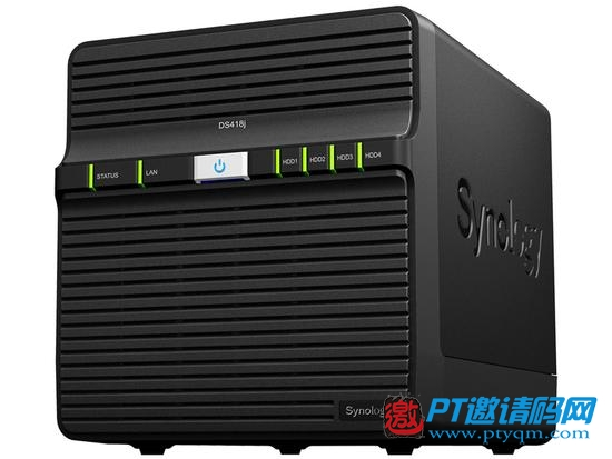 Synology发布新款廉价4盘位机架式NAS存储器DS418j